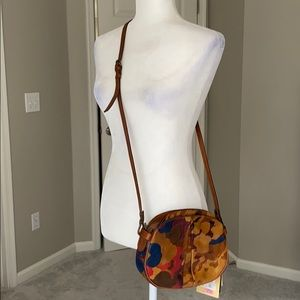 Patricia Nash Parisian Camo Collection Crossbody